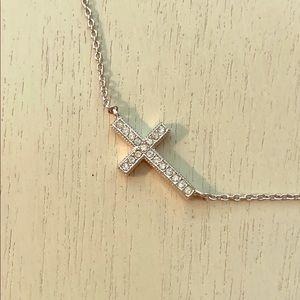 Nadri Cross Necklace